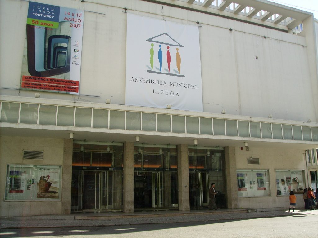 Edifício da Assembleia Municipal de Lisboa