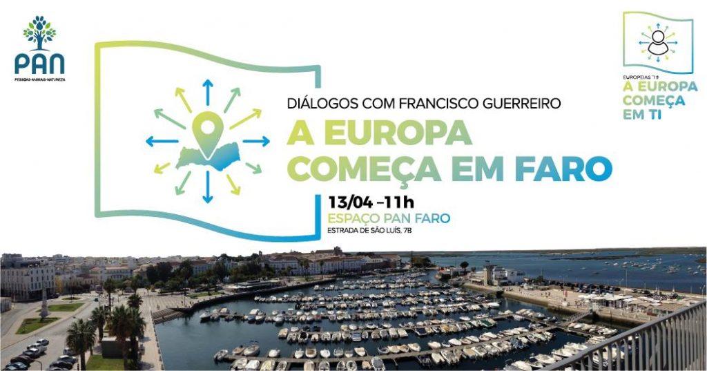 """Imagem de Divulgação do Evento """"A Europa começa em Faro"""""""