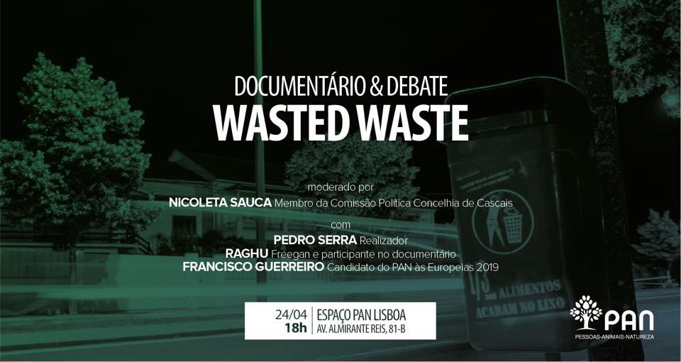 Imagem Evento do Documentário Wasted Waste