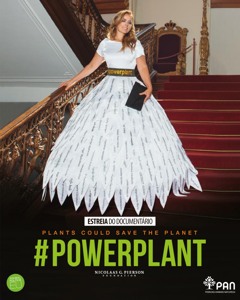Cartaz da estreia do Documentário PowerPlant em Portugal