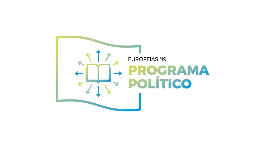 Logotipo do programa político para as Europeias 2019