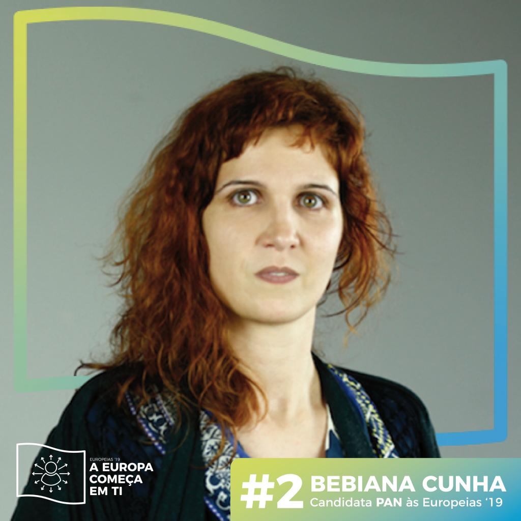 Bebiana Cunha Candidata às Europeias 2019 pelo PAN