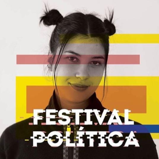 Imagem Promocional do Festival Política com Rapariga