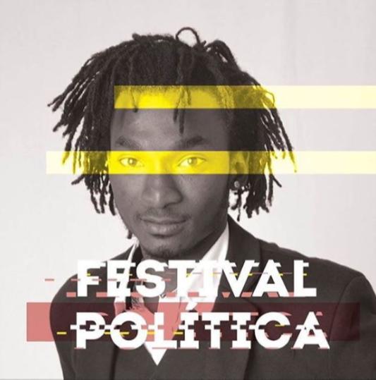 Imagem Promocional do Festival Política com Rapaz