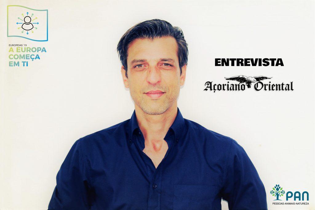 Candidato às Europeias 2019 Pedro Neves