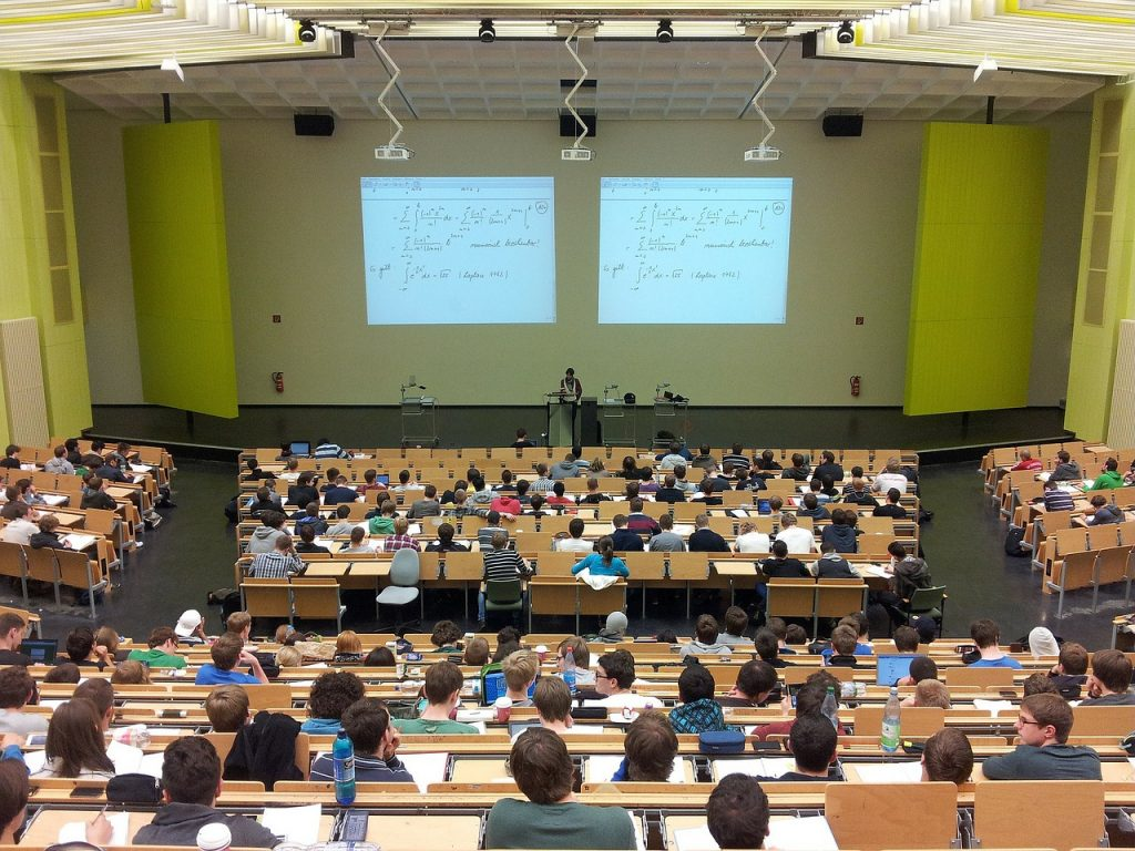 Auditório de universidade