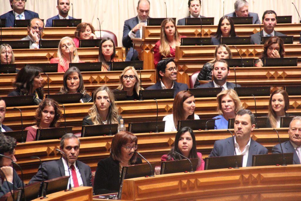 Imagem do Grupo Parlamentar do PAN: André Silva, Inês Real, Bebiana Cunha, Cristina