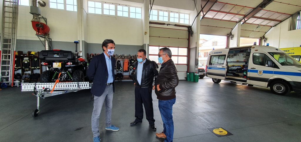 PAN/Açores visita a Associação Humanitária dos Bombeiros Voluntários da Ribeira Grande