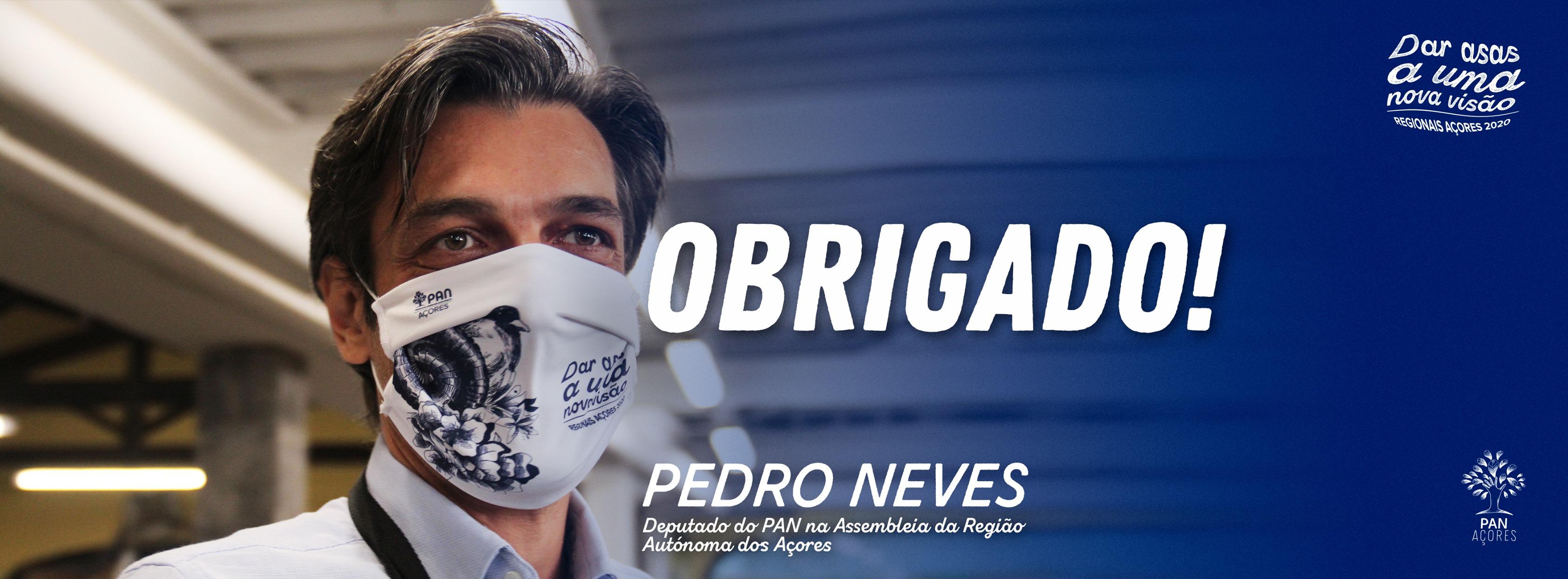 Pedro Neves eleito . obrigado!