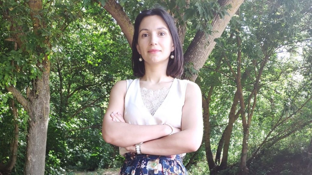 Na imagem está Rita Lopes, candidata do PAN Santarém